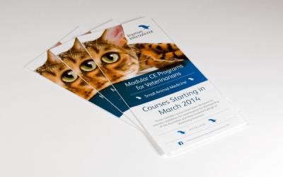 Z fold leaflet printing