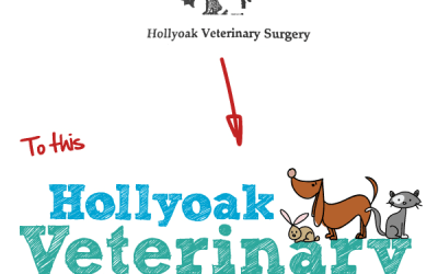 Veterinary logo rebrand helps to create a professional new image