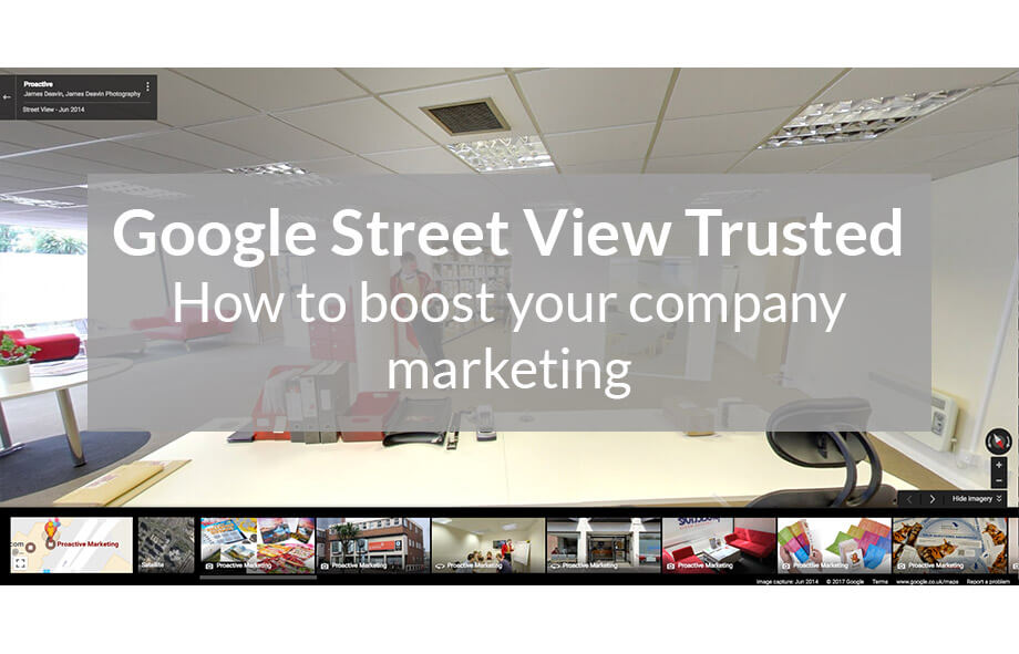 How to boost your company marketing with Google Street View Trusted