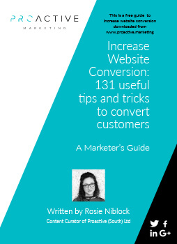 Marketing guides: 131 ways to improve your website