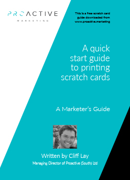 Marketing Guide: A quick Start guide to printing scratch cards