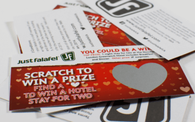 Printed scratch cards can help you generate amazing results