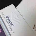 special print finishes - embossing