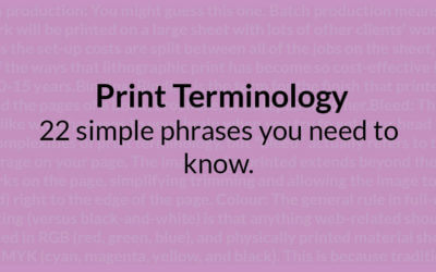 22 simple print terminology phrases you need to know