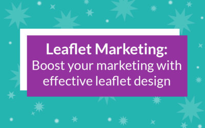 Boost your direct marketing with effective leaflet design.