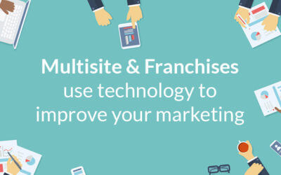 Multisite & franchise marketing is improved by technology