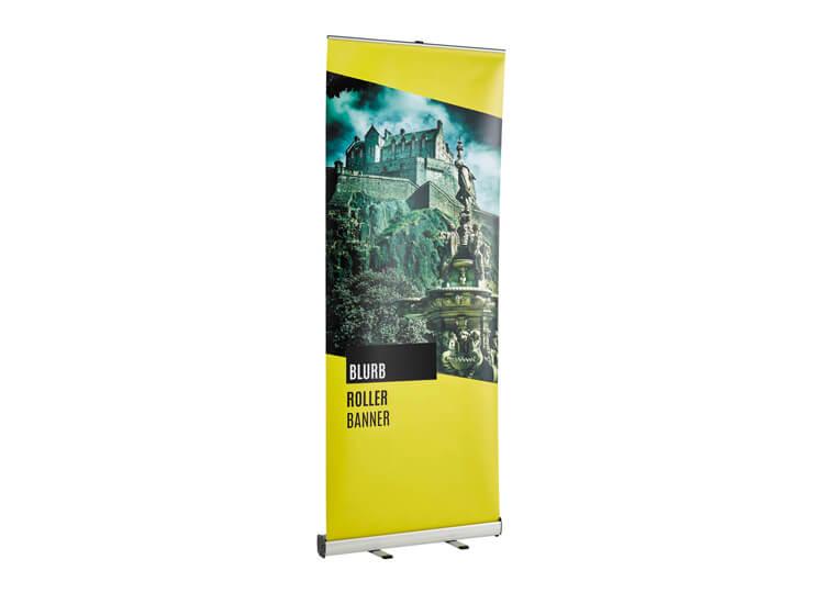 Roller banner - Blurb - 2.2m(h) x 0.8(w)