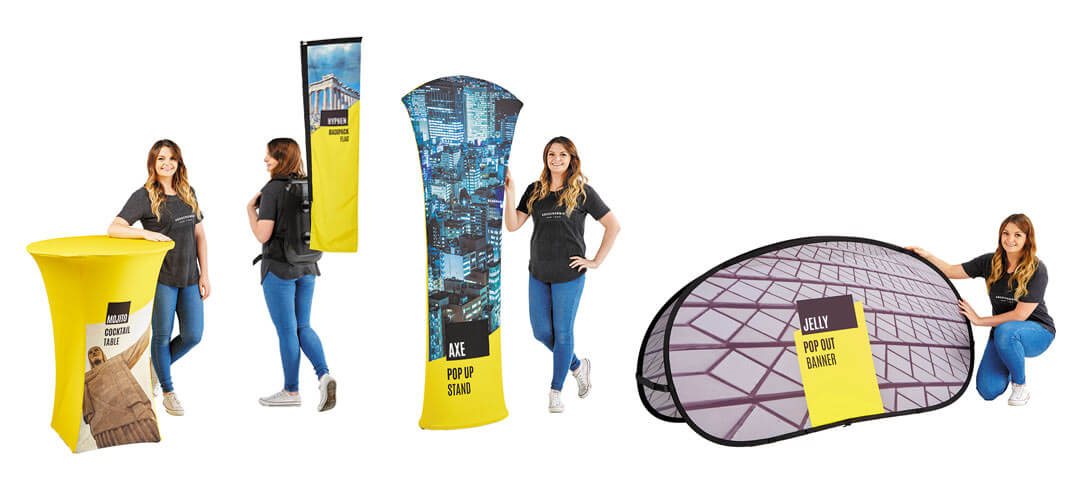 Marketing Exhibition Stand Out : Exciting new fabric exhibition display stand brochure free