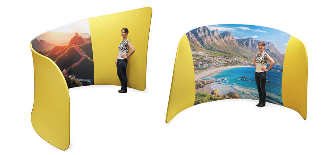 Fabric Exhibition Stand Out : Exciting new fabric exhibition display stand brochure free