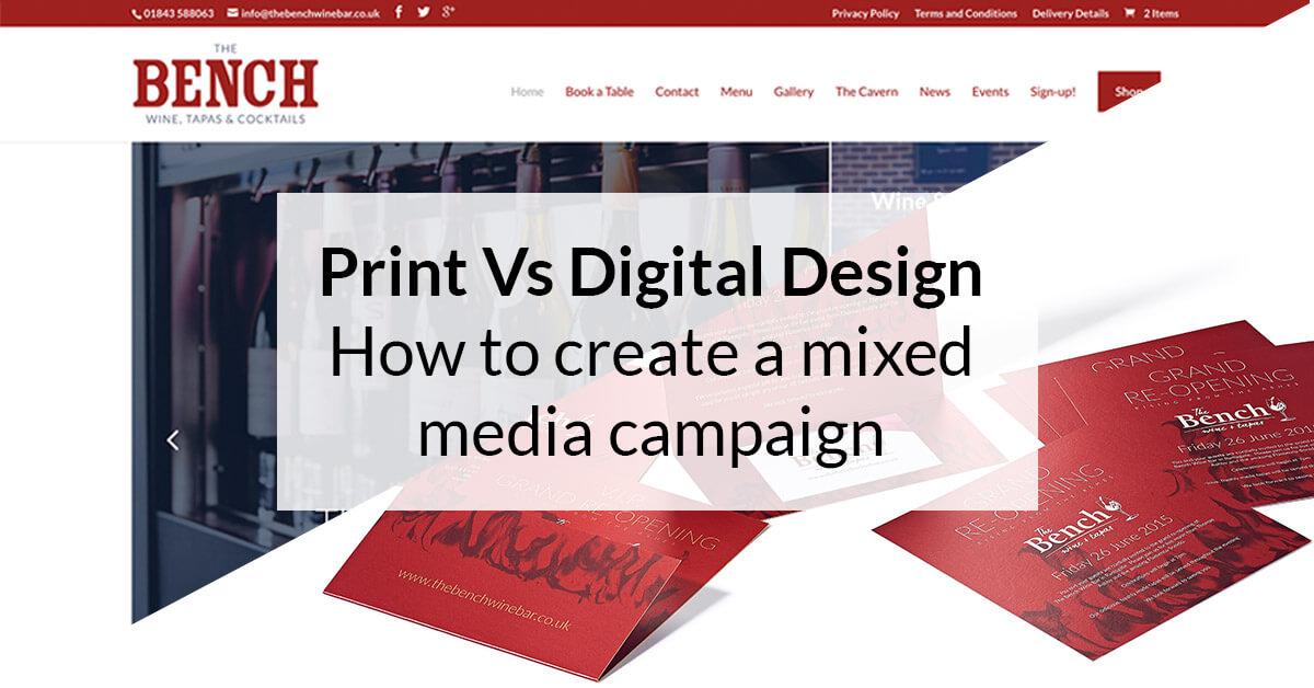 Digital advertising vs print advertising