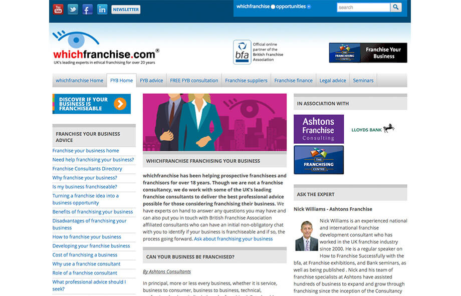 Franchise Marketing Blogs Which Franchise