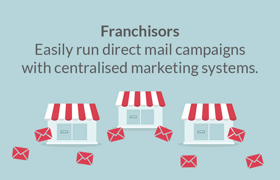 Centralised marketing system helps franchisees easily run mail campaigns