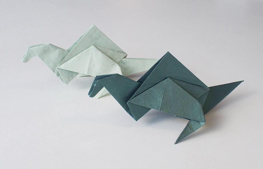 Premium Paper Origami Dinosaurs