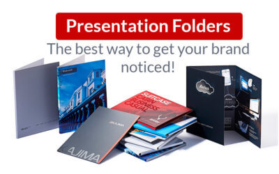 Presentation folders – the best way to get your brand noticed!