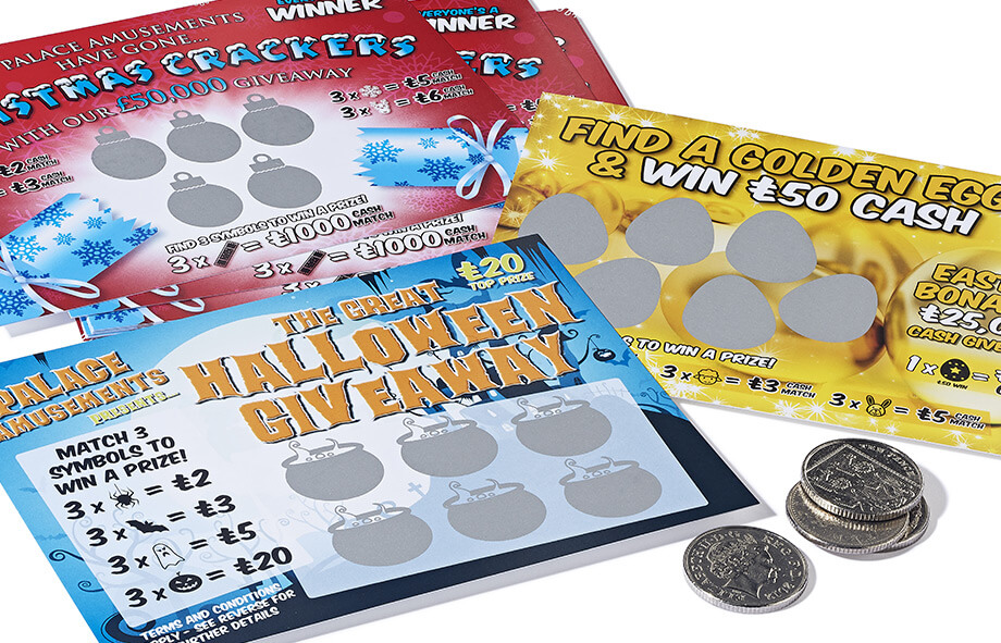 Print scratch cards and be a winner too!