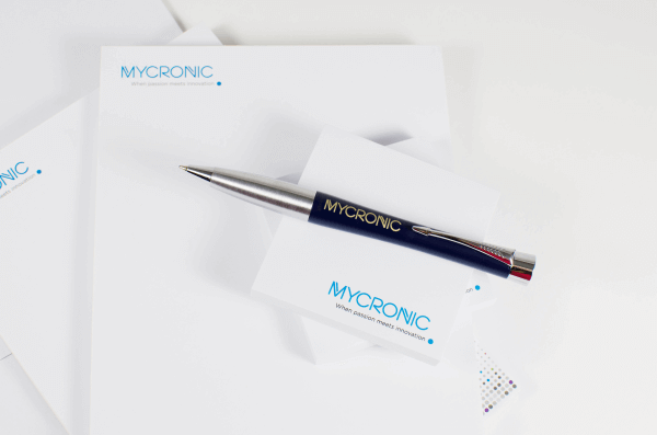 Promotional Printing: Stationery, sticky notes, and pens