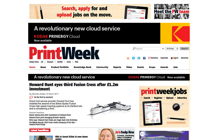 Printing Blogs Print Week