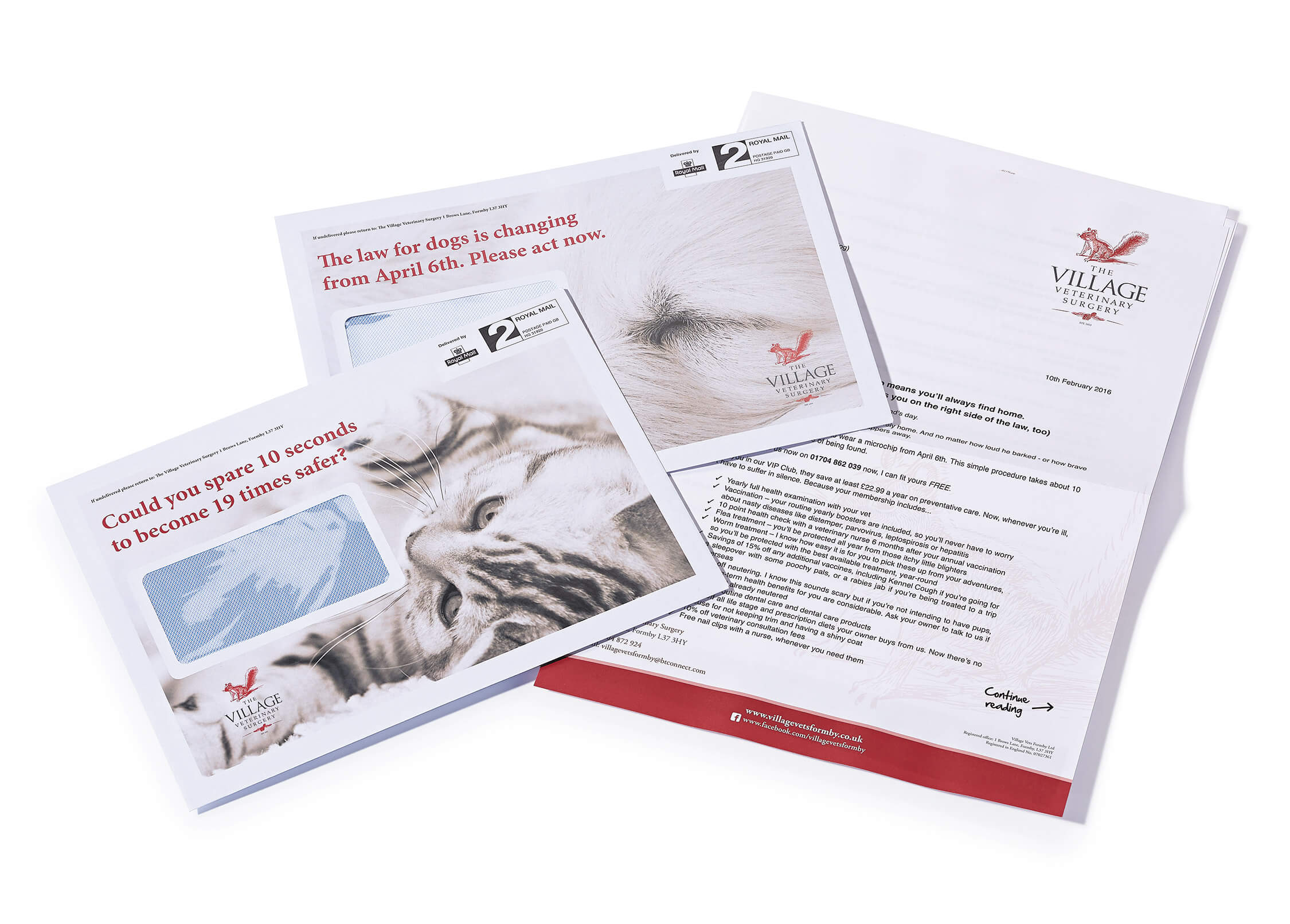 Direct mail marketing for veterinary practice