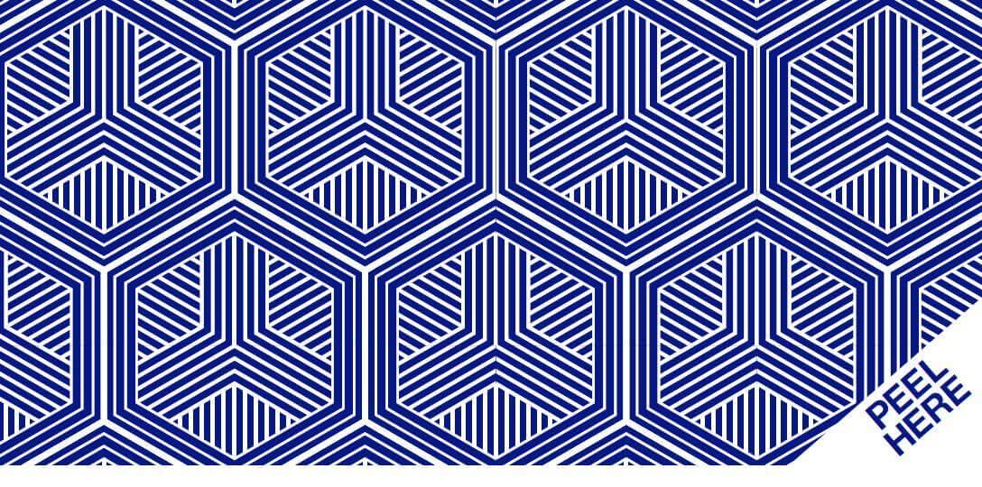 Direct mail case study: Peel & Reveal design