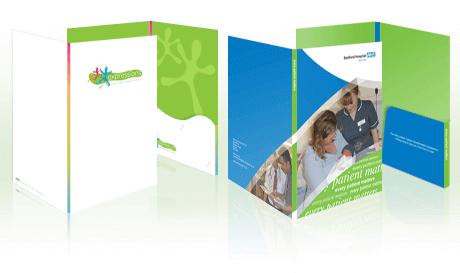 9 reasons to design and print presentation folders