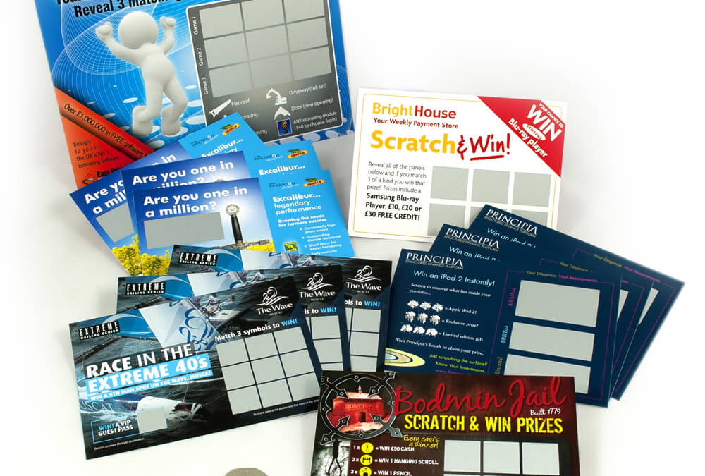In business everyone wins with scratch card printing