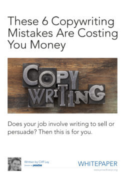 These 6 copywrtiting mistakes are costing you money
