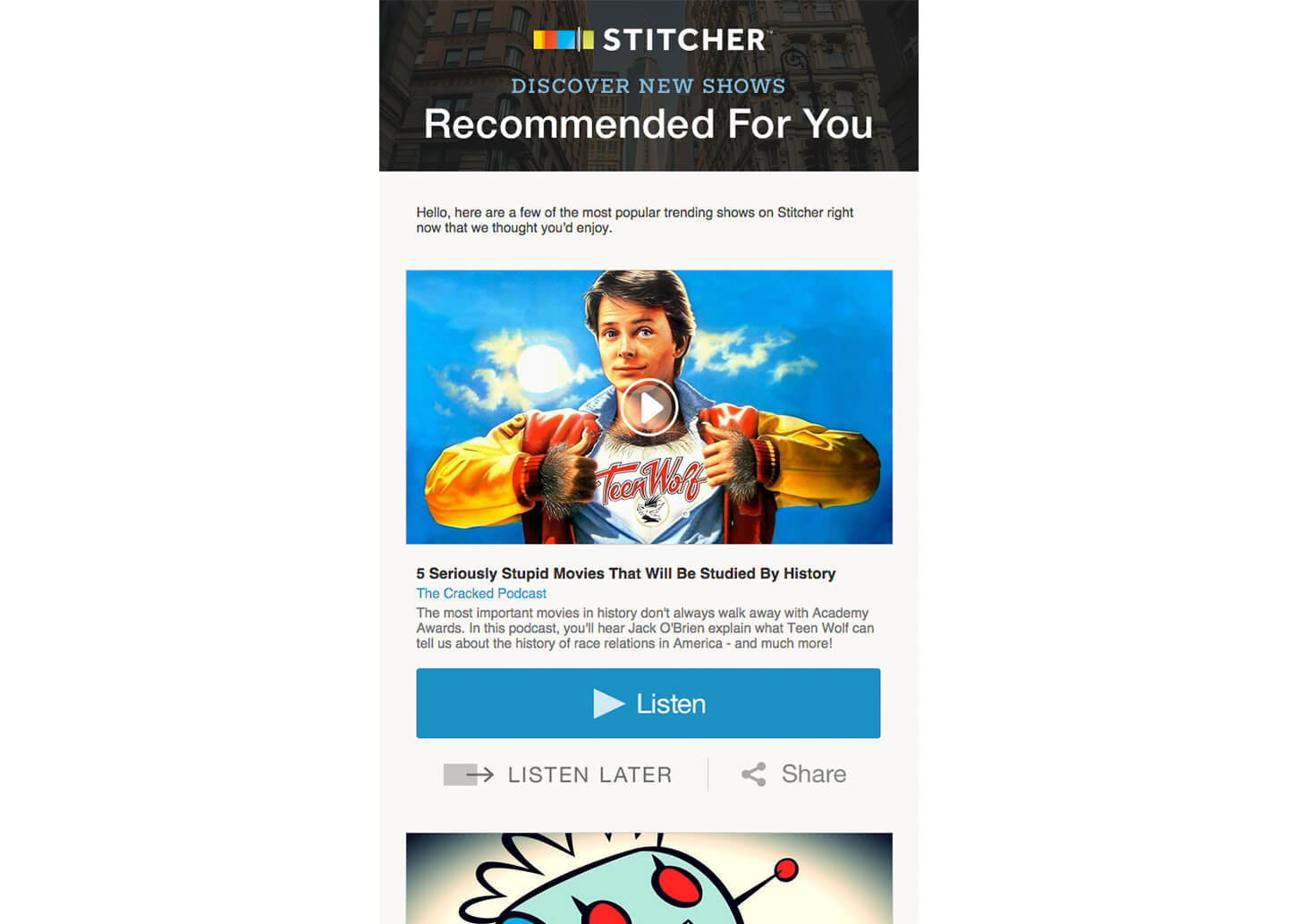 Killer email campaign