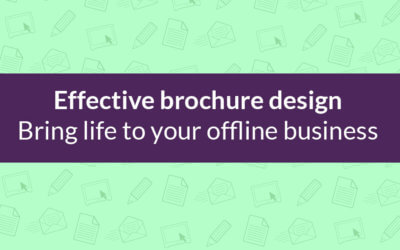 Effective Brochure Design: Everything you need to know!