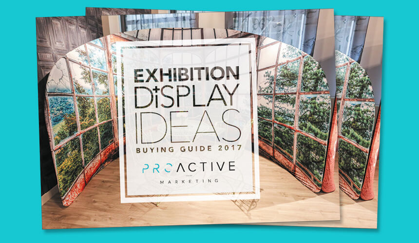 Exhibition Display Racks : Lightweight display stands printed in amazing hd colour