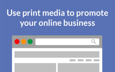 How to use print media to promote your website