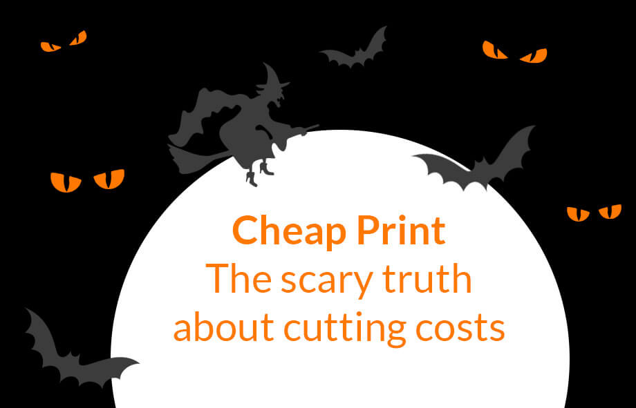 Cheap print is not all it's cracked up to be!