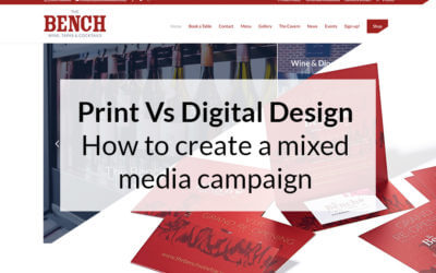 Print vs Digital: How to design mixed media marketing campaigns