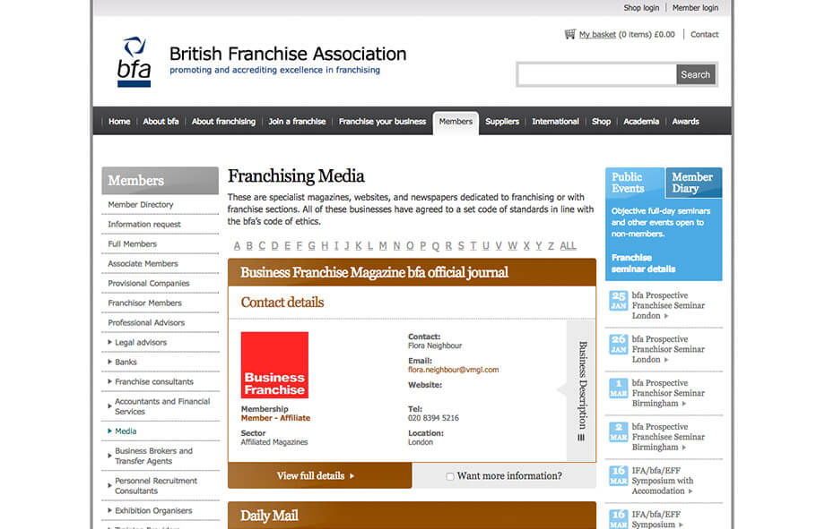 Franchise Marketing Blogs British Franchise Association