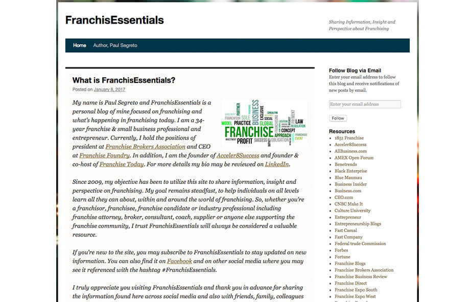 Franchise Marketing Blogs Franchise Essentials