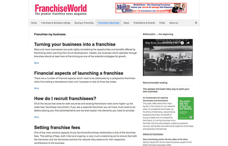 Franchise Marketing Blogs Franchise World