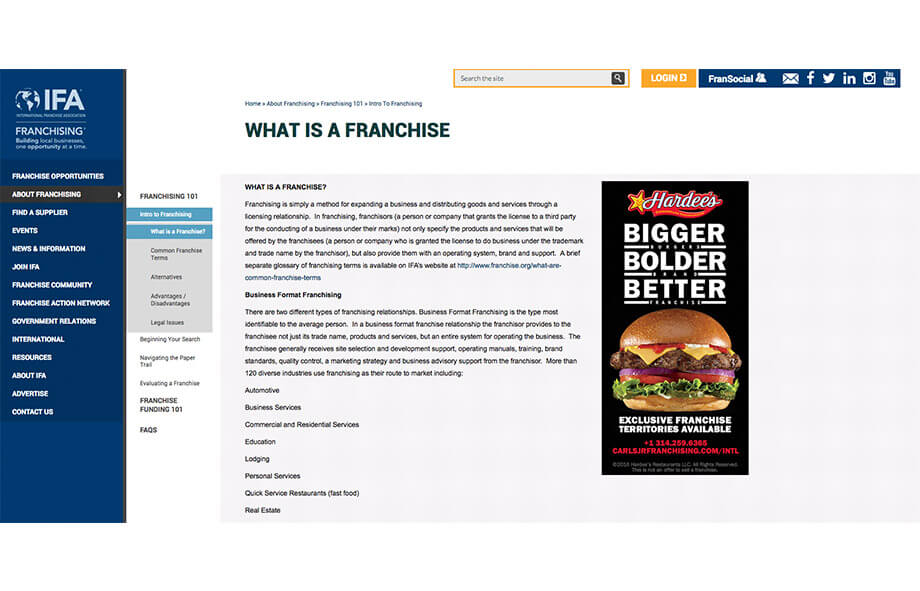 Franchise Marketing Blogs The International Franchise Association