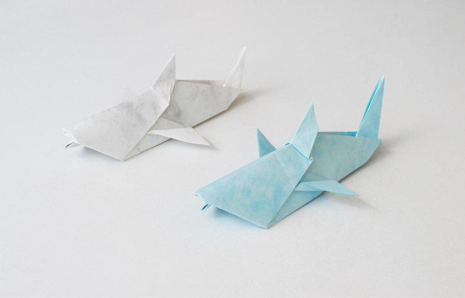 Premium Paper Origami Sharks