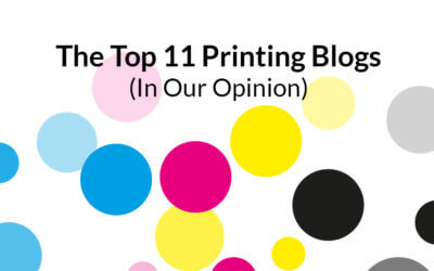 The 11 best printing blogs (in our opinion)