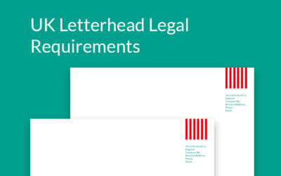 UK letterhead legal requirements – a quick guide to help you get it right