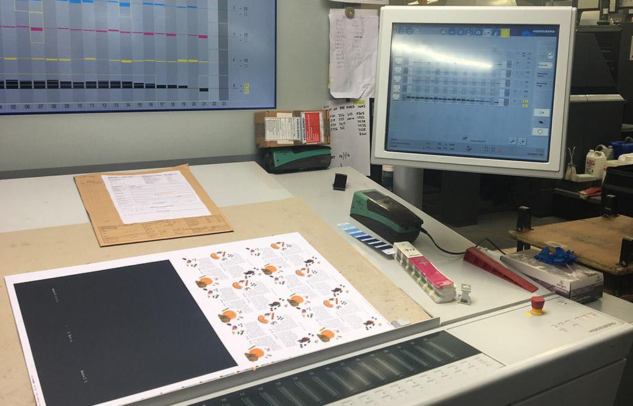 Design & Print Process