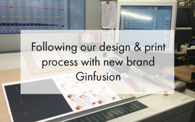 Follow Ginfusion's print process journey to awesome bespoke packaging